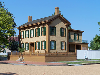 Abraham Lincoln's home